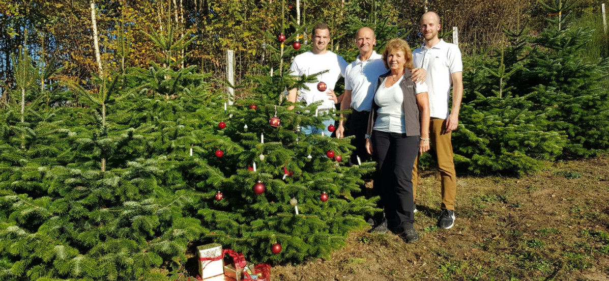 Ihre Tannenbaumspezialisten - Familie Ziegler
